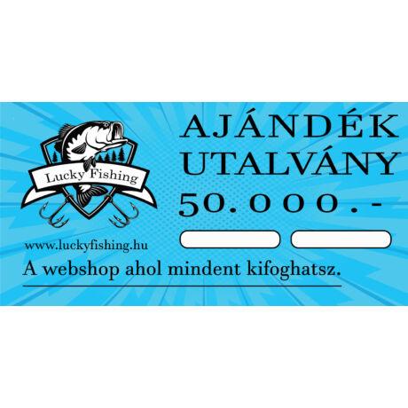 AJÁNDÉKUTALVÁNY 50000.- Ft