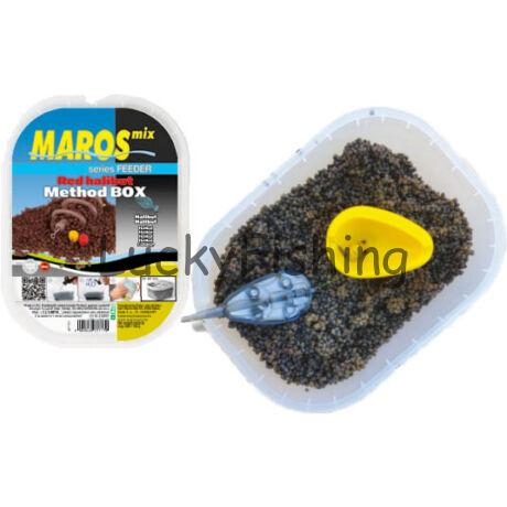 Maros  - Method box Red Halibut eper 500+100g